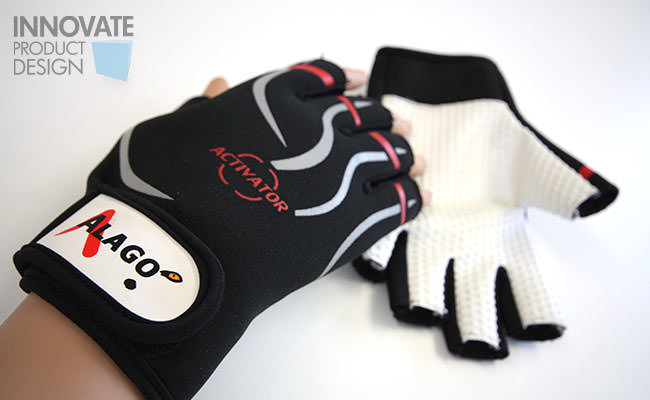alago heated sports glove