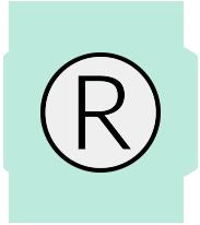 "R icon for ""registered design"""