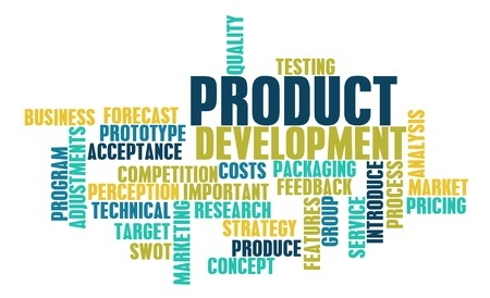 Bringing a product to market word cloud