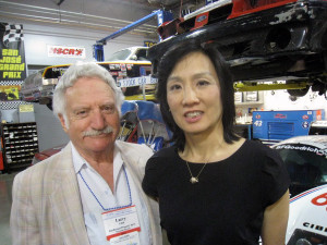 Larry Udell and Michelle Lee at the opening of the San Jose patent office